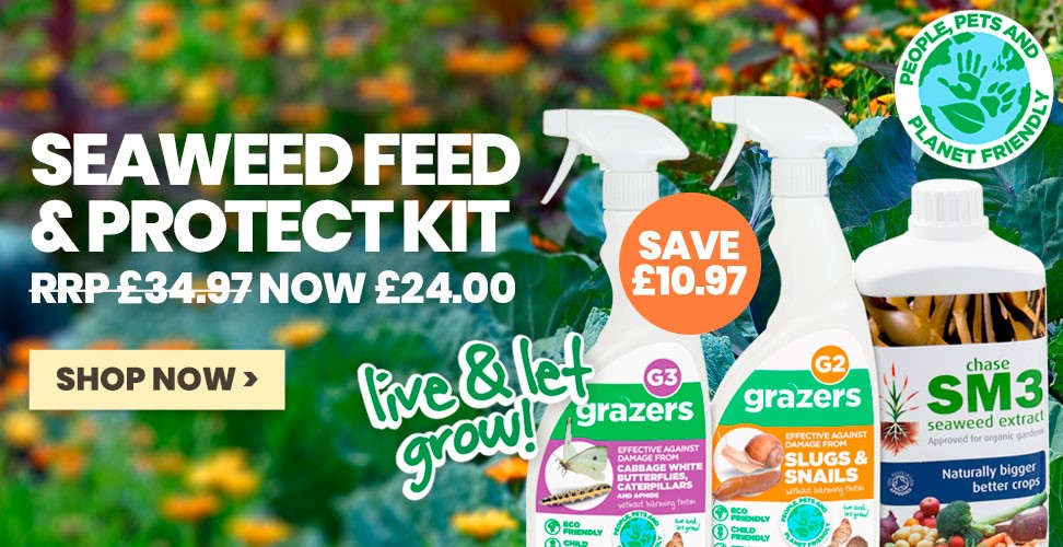 Feed & Protect your plants with our 3 in 1 kit